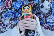 Wooden Russian Doll Matreshka