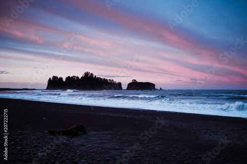 Foto op Plexiglas Kust Coastal Washington Sunrise