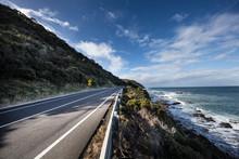 The Great Ocean Road In Victor...