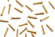 Pattern Gold Metallic Screws B...