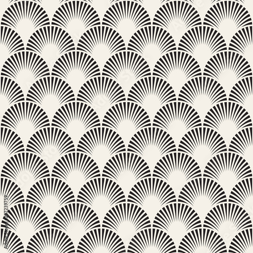 vector-seamless-vintage-pattern-of-overlapping-arcs-in-art-deco-style-modern-stylish-abstract