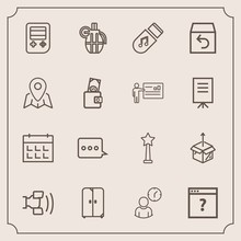 Modern, Simple Vector Icon Set With Medal, Arrow, Return, Location, Business, Grenade, New, Weapon, Web, Work, Time, Package, Cell, Order, Sound, Message, Mobile, Button, Technology, Cabinet Icons