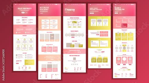 Foto  Web Page Design Vector