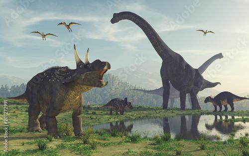 Canvas Print Dinosaur