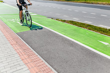 Bike Green Lane In Europe, Con...