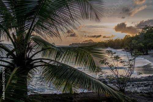 Couché de soleil tropical