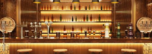 Fotomural A pub