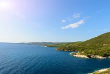 Beach On The Mediterranean In ...