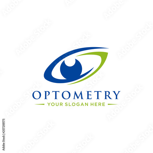 Fotografía Optometry Logo Vector