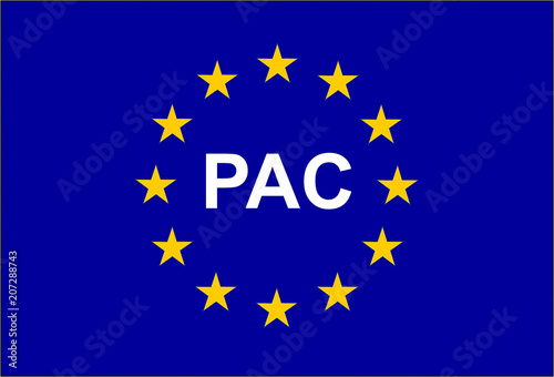 Photo PAC, abbreviation of common Agricultural Policy