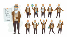 Teacher - Vector Cartoon Peopl...
