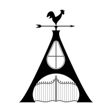 Capital Letter A Stylized Logo...