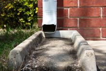 Gutter Downspout Water Diverter