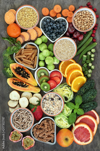 High Fiber Health Food