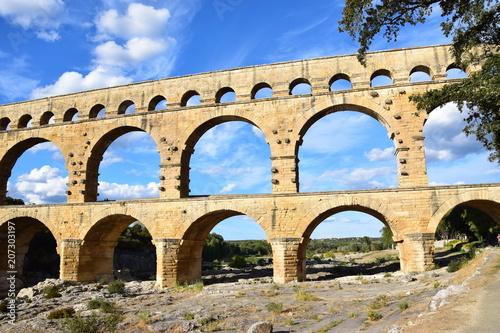 Staande foto Artistiek mon. Pont du Gard