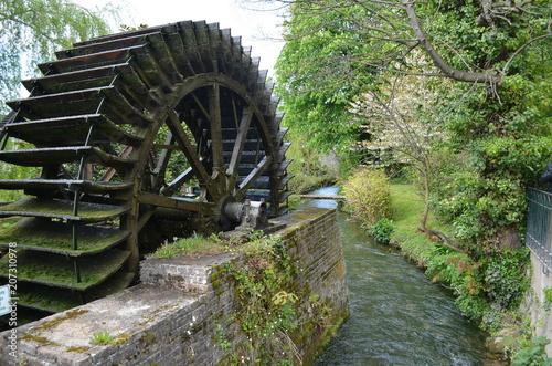 Poster Molens Roue moulin