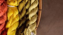 Colorful Of Silk Yarn For Read...