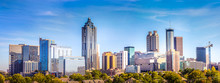 Downtown Atlanta Skyline Showi...