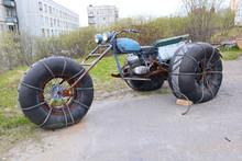 Homemade Three-wheeled All-ter...