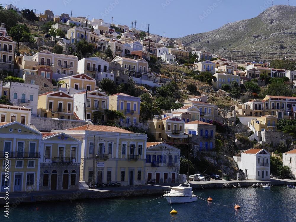 Fototapety, obrazy: Grecja,wyspa Symi