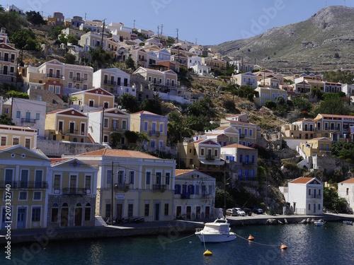 Fototapeta Grecja,wyspa Symi obraz