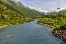 Bear Valley River On Alaska's ...