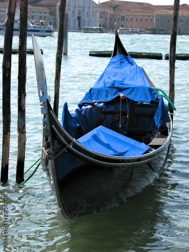 Venetian gondolas - Venice - Italy
