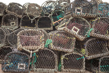 Lots Of Lobster Cages