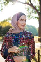 Portrait Of Muslim Adult Woman Wearing Hijab