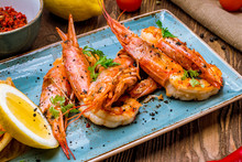 Tiger Prawns On The Grill