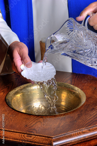 Baptismal Font Fototapet