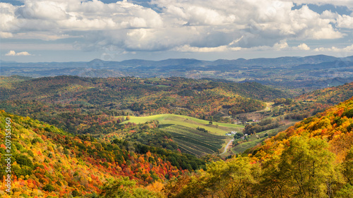 Autumn at Grayson Highlands State Park Virginia Fotobehang