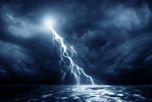 Lightning Storm Over Black Sea...
