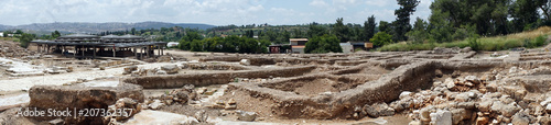 Foto op Aluminium Rudnes Panorama of ruins