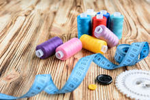 Threads And Sewing Accessories...