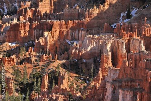 Tuinposter Canyon USA. Panorama of Bryce Canyon