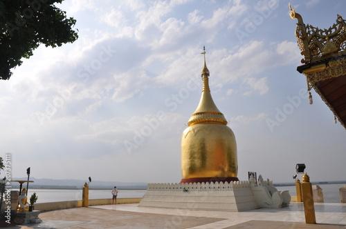 Spoed Foto op Canvas Bedehuis Temple in Bagan Myanmar (Burma)