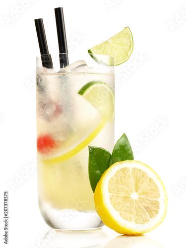 Fotobehang Cocktail Gin Fizz Cocktail