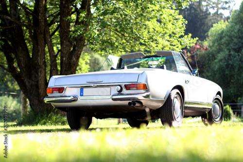 Papiers peints Vintage voitures Oldtimer von hinten