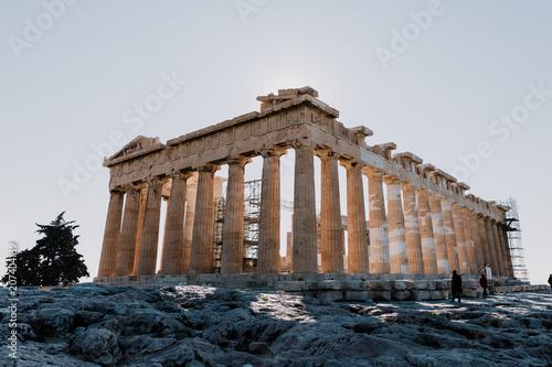 Plakat Świątynia z Aten, Grecja