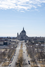 A Wide Angle View Of St'paul C...