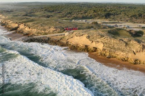Fotografía Plage de Sauveterre, Olonne-sur-Mer vue du ciel