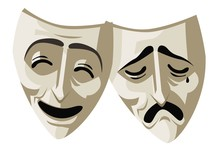 Theater Drama And Comedy Masks