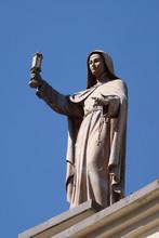 Saint Clare Of Assisi Statue O...