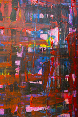 Abstract Acrylic and Emulsion Paint for Background