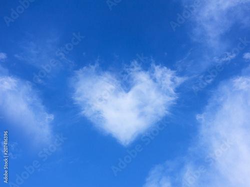 Foto  nuvola a forma di cuore amore relazioni