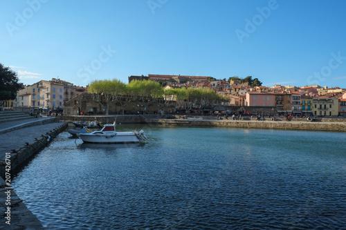 Fotobehang Mediterraans Europa Collioure, Langedoc-Roussillon, France