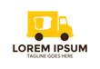 food truck logo vector illustration