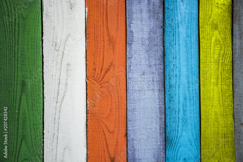 Colorful Background Colored Green White Orange Gray Brown Paint Of The