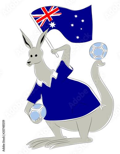 Fotografía  world cup mascot Australia
